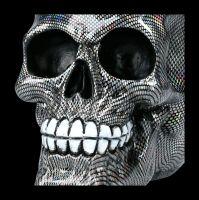 Totenkopf Figur - Holographisches Muster