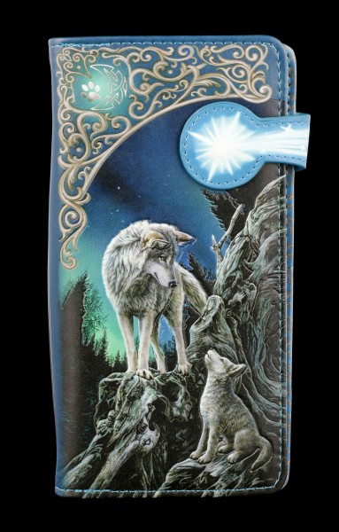 Purse with Wolves - Guidance - embossed