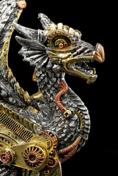Steampunk Dragon Figurine - Killing Machine - small
