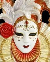 Venezianische Maske - Harlekin