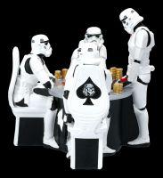 Stormtrooper Figurine - Poker Face