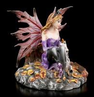 Elfen Figur - Tamanka mit Einhorn