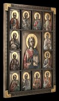 Wall Plaque - Jesus and the 12 Apostles