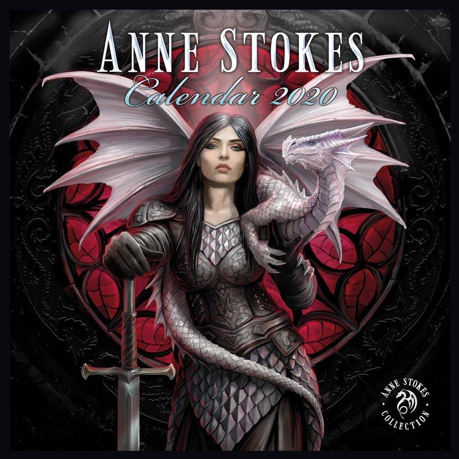 Anne Stokes Kalender 2020 - Fantasy