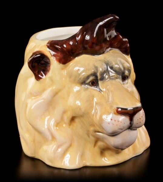 Keramik Tasse - Löwe
