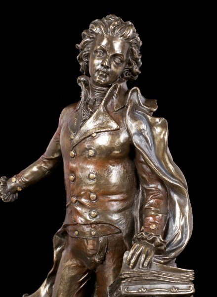 Mozart Figur - Mozart am Notenpult