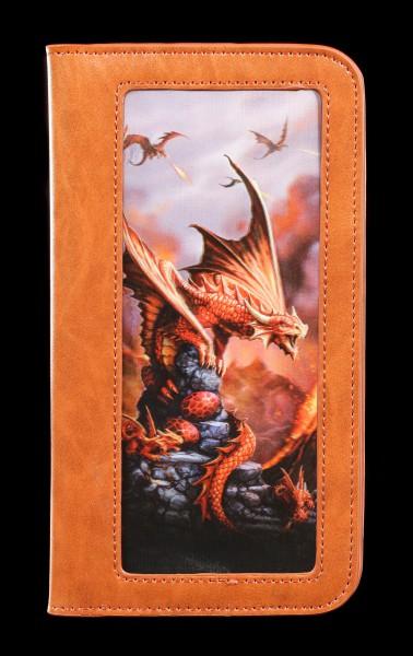 Handyhülle mit 3D Motiv - Drache Fire Dragon