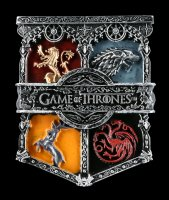 Game of Thrones Magnet - Königshäuser Siegel