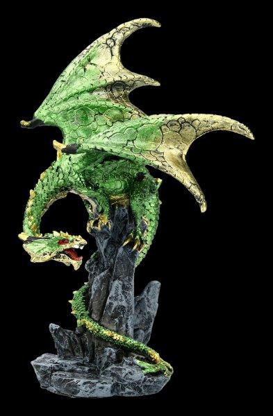 Dragon Figurine - Hear me Roar - green