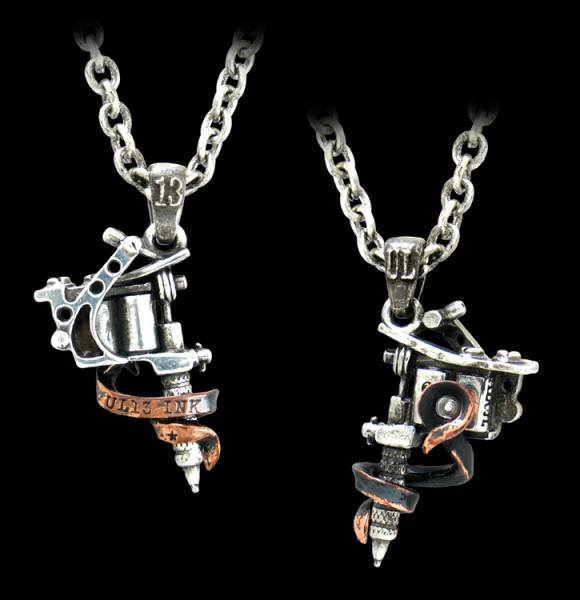Tattoo Gun - Pendant - Alchemy UL13
