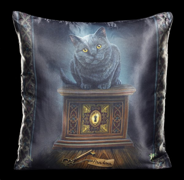 Kissen mit Katze - Pandora's Box