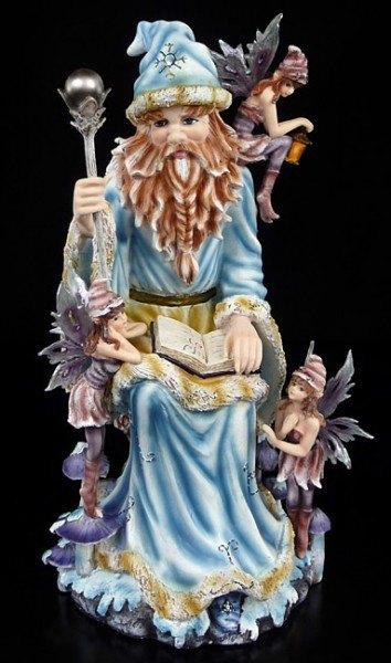 Wonderland Zauberer Figur mit Elfen