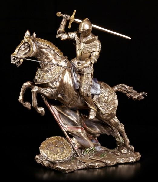 Ritter Figur - Mit Schwert im Sprung