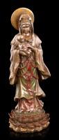 Kwan Yin Figurine holding Baby