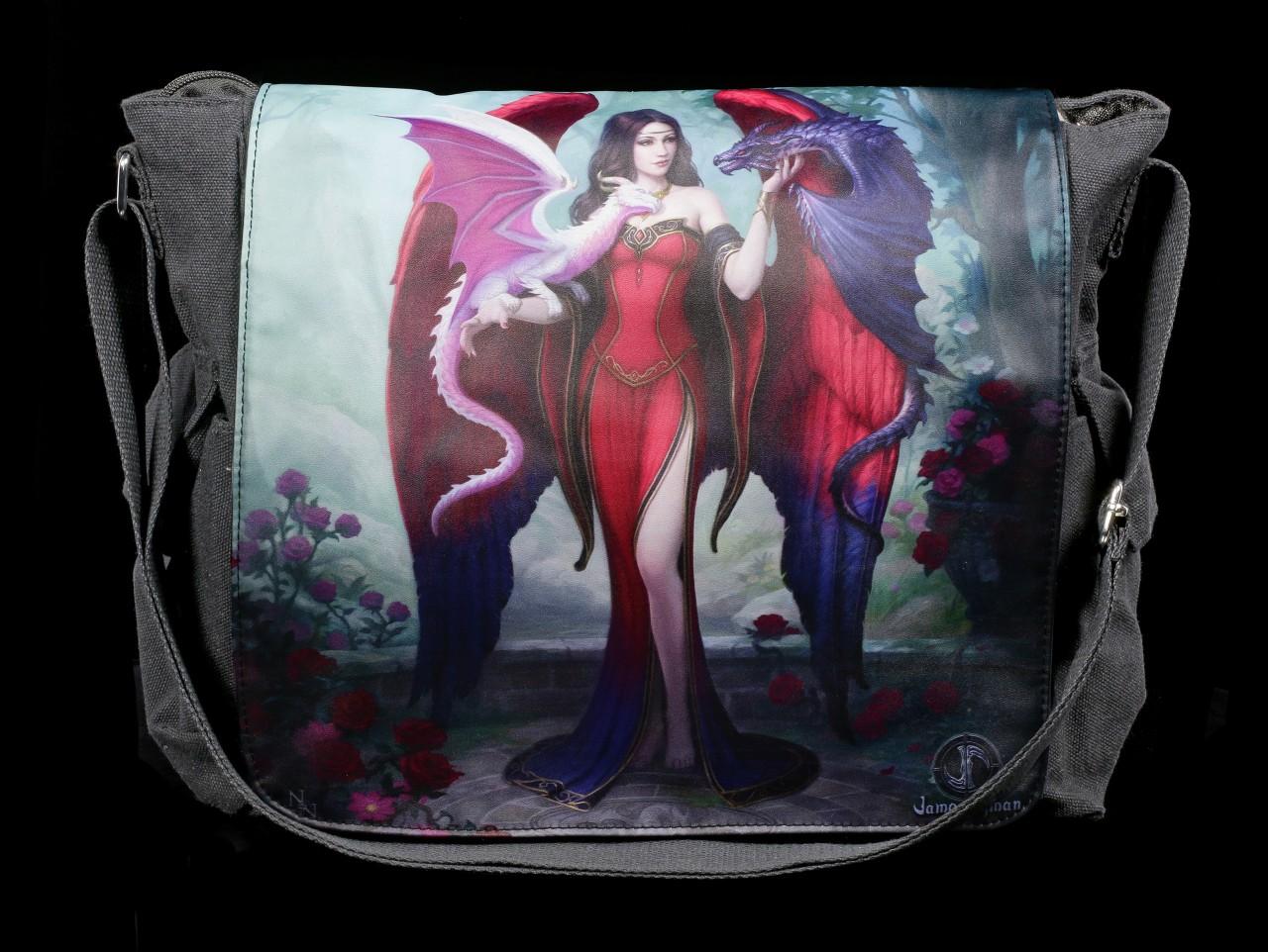 Umhängetasche mit Drachen - Dragon Mistress