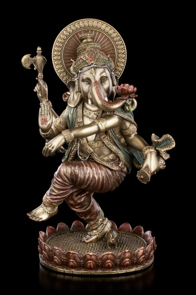 Dancing Ganesha Figurine - Indian Elephant God