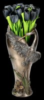 Kunstblume - Schwarzer Tulpenstrauß
