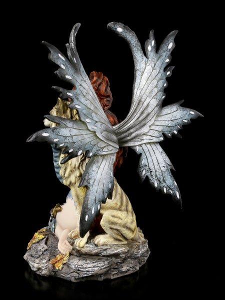 Elfen Figur - Celeste mit Wolf