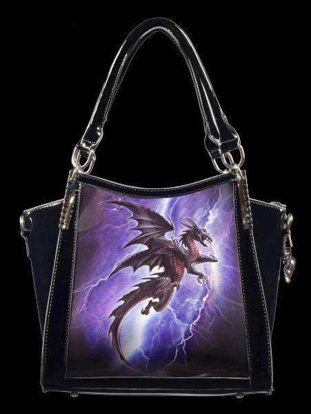 Fantasy Handbag with 3D Picture - Lightning Dragon