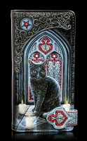 Geldbörse mit Katze - Sacred Circle - geprägt