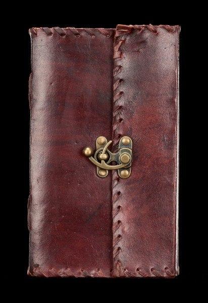 Leder Notizbuch mit Schloss