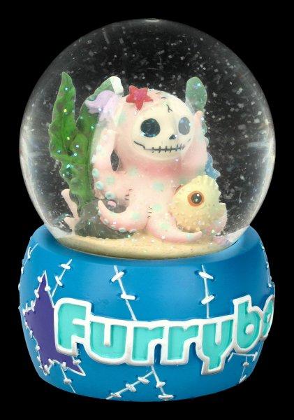 Furrybones Snow Globe - Octopee