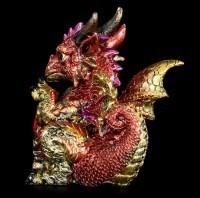 Dragon Figurine - Ruby Dragonling