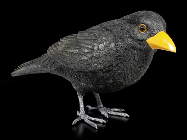 Garden Figurine - Common Blackbird