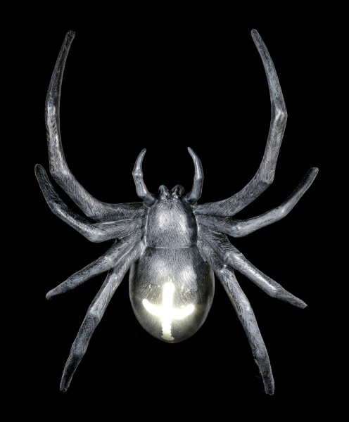 Wall Lamp - Large Spider with LED - Battery powered