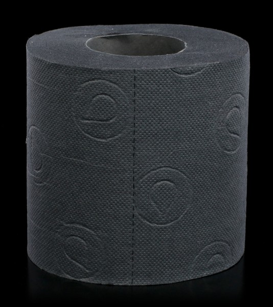Black Toiletpaper