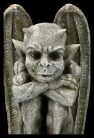 Garden Figurine - Gargoyle in Stone look