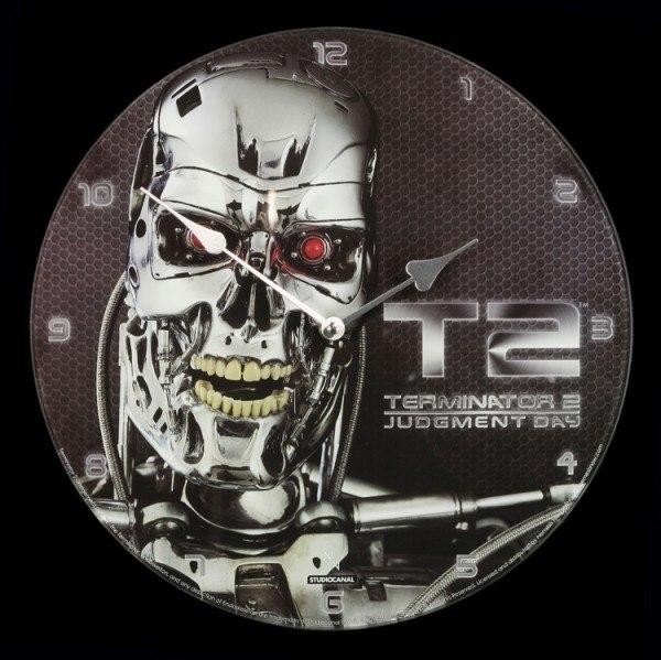Glas Wanduhr - Terminator Judgment Day