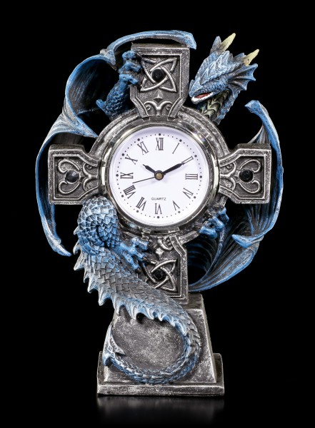 Dragon Table Clock - Draco Clock