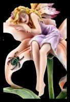 Fairy Figurine - Foria Sleeping on Lily