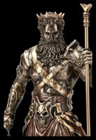 Hades Figurine - God of Death with Bident and Cerberus