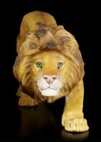 Löwen Figur schleichend