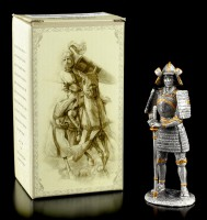 Japanischer Samurai Etsushi - Zinn Figur