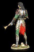 Skeleton Figurine - Steampunk Dark Knight