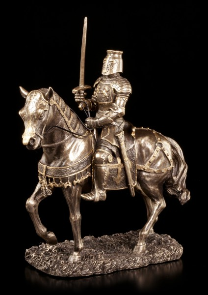 Ritter Figur - Auf Pferd mit Schwert