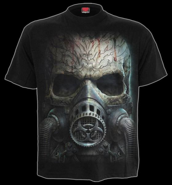 Totenkopf T-Shirt - Bio-Skull