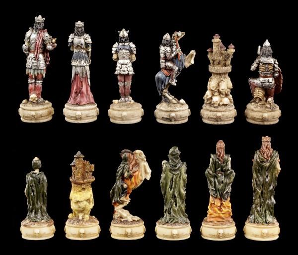 Chessmen Set - Skeleton Knights