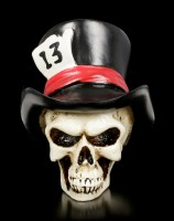 Nasty Skull with Cylinder - Lucky 13