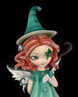 Elfen Figur mit Besen - I'll Put A Spell On You