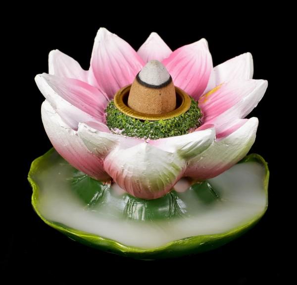 Backflow Räucherkegelhalter - Lotusblüte
