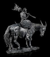 Demon Figurine - Malphas on Horse - black