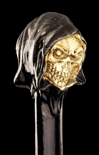 Spazierstock mit Totenkopf - Reaper
