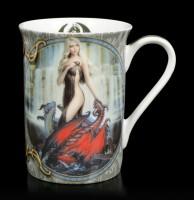 Porcelain Mug - Dragon Bathers