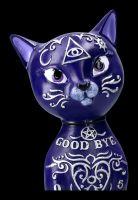 Ouija Katzen Figur - Mystic Kitty lila