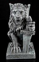Lion Gargoyle with Sword