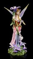 Elfen Figur - Vivian mit Lila Blume